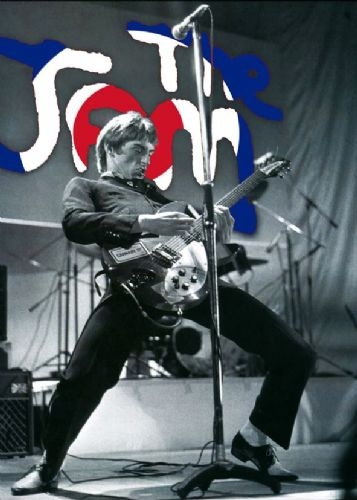 THE JAM - PAUL WELLER - MOD JAM canvas print - self adhesive poster - photo print